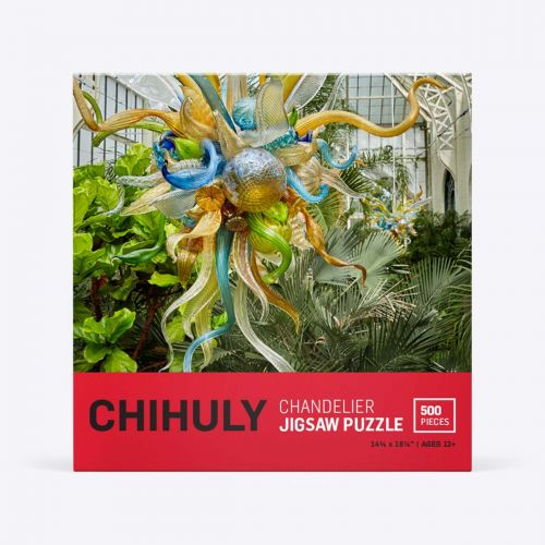 Chihuly Pure Imagination Chandelier 500-Piece Puzzle