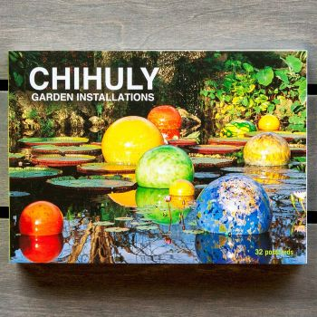 Chihuly Garden Installations Postcards
