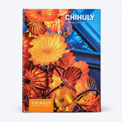 Chihuly Garden and Glass 2021 Weekly Planner