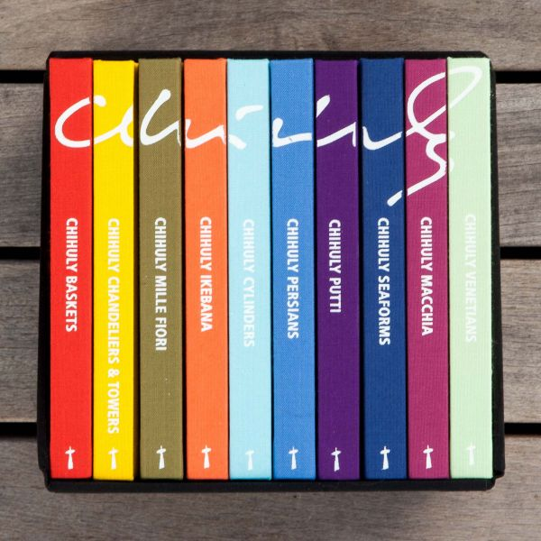 Chihuly Small Book Boxed Set