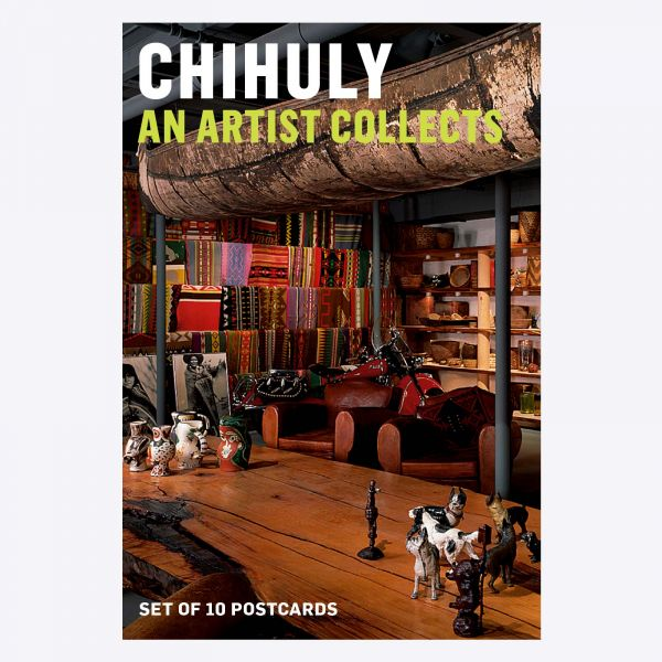 Chihuly: An Artist Collects Postcard Pack