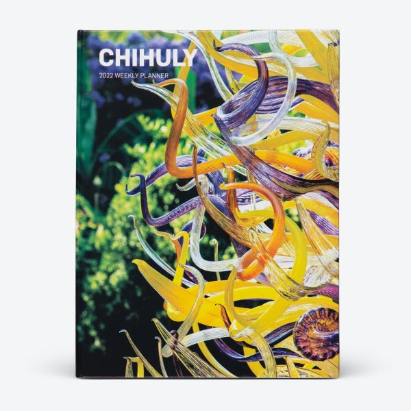 Chihuly 2022 Weekly Planner