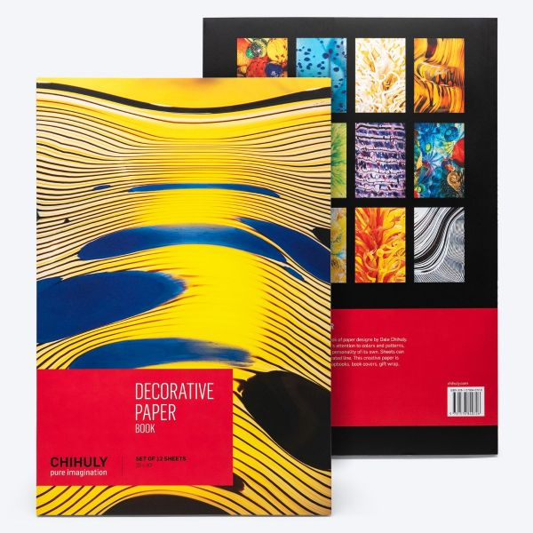 Chihuly Pure Imagination Decorative Paper Book
