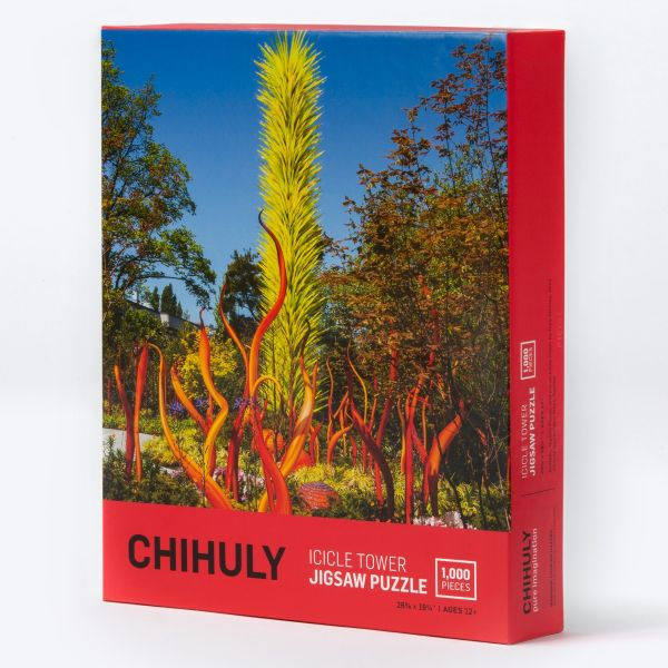 Chihuly Pure Imagination Icicle Tower Jigsaw Puzzle