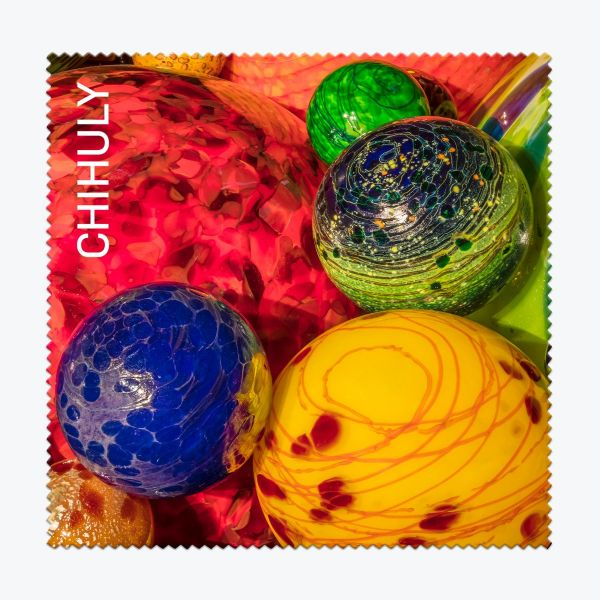 Chihuly Float Boat Microfiber Cleaning Cloth