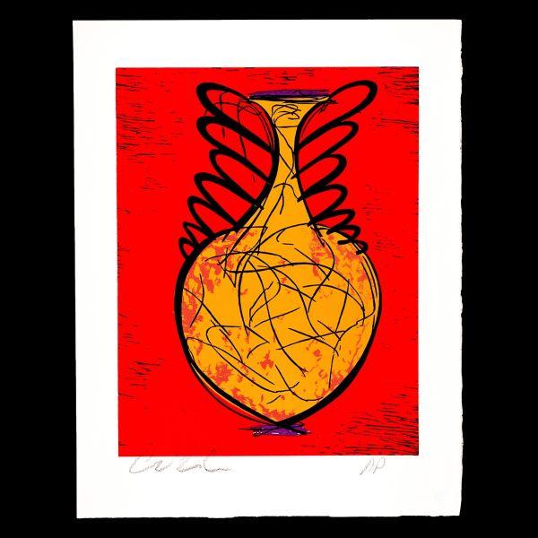 Orange Urn, Artist's Proof
